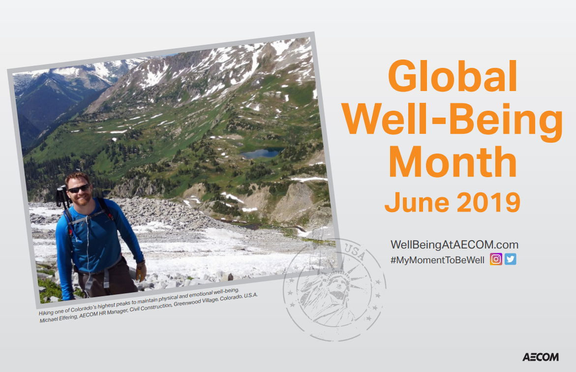 AECOM Global Well-being Communications
